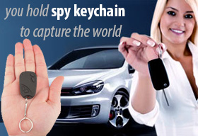 Keychain Spy Camera!