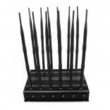 Nuevo y Ajustable Bloqueador de 12 Antenas WiFi GPS VHF UHF LoJack 3G 4G Bloquea todas las Bandas y Señales