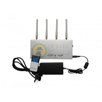 Bloqueador de Señal de 4 antenas 3G / GSM / CDMA