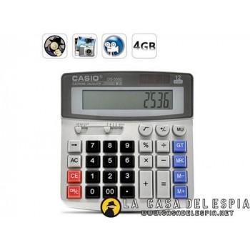 Calculadora con cámara oculta espia