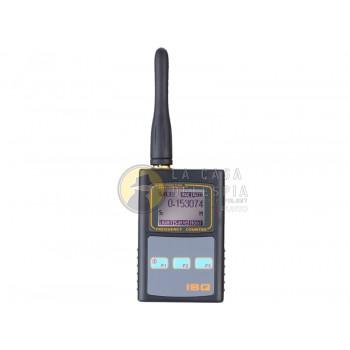 BUSCADOR DE SEÑAL RF CON VISOR LCD Y CONTADOR DE FRECUENCIAS CON ANTENA UHF