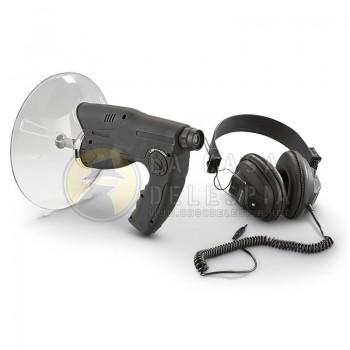 Microfono Direccional con Audifonos Monocular Bionic, Escucha Telescopica de Audio