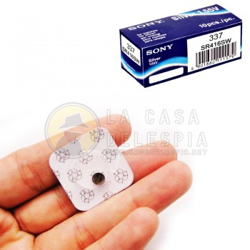 Baterias / Pilas para Nano Auriculares 337/SR416 Silver 1.55V, 337 SR416SW