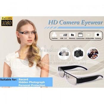 Lentes Espias 1080P Full HD Gafas con Camara Oculta 30fps 1290*1080