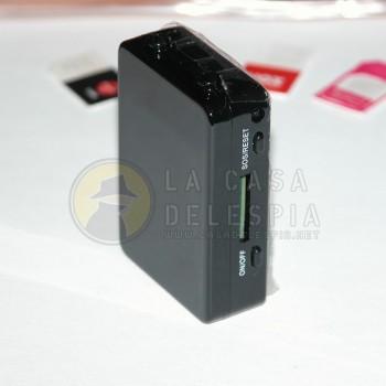 Caja GSM con nano auricular - invisible