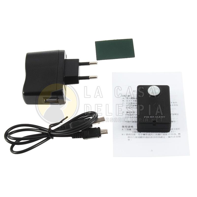 Alarma con sensor de movimiento cool alarma con sensor de - Sensores de movimiento con alarma ...