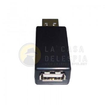 Extractor de Información KEYLOGGER entrada de teclado USB Grabadora Pequeño Inteligente y de Veloz Instalacion