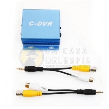 Grabadora de Video Digital Audio Nueva Mini DVR 30fps Detección de movimiento 1CH TF de ranura para Micro SD