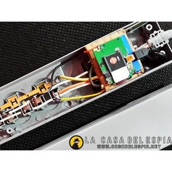 Supresor de Picos GSM con microfono ultra sensible y alarma, auto recargable