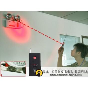 Detector de RF (Microfonos, Camaras Espias Inhalambricas, Wifi, etc), y Barrido de Camaras con Sensores Infrarrojos