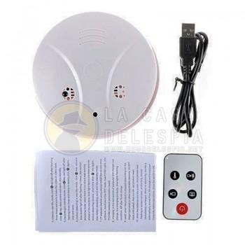 Camara Oculta tipo Sensor de Alarmas para Incendios, (Detector de humo) Alta Calidad y Deteccion de Movimientos HD