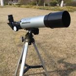 Telescopio Astronómico HD monocular al aire libre con trípode portátil 360 / 50mm